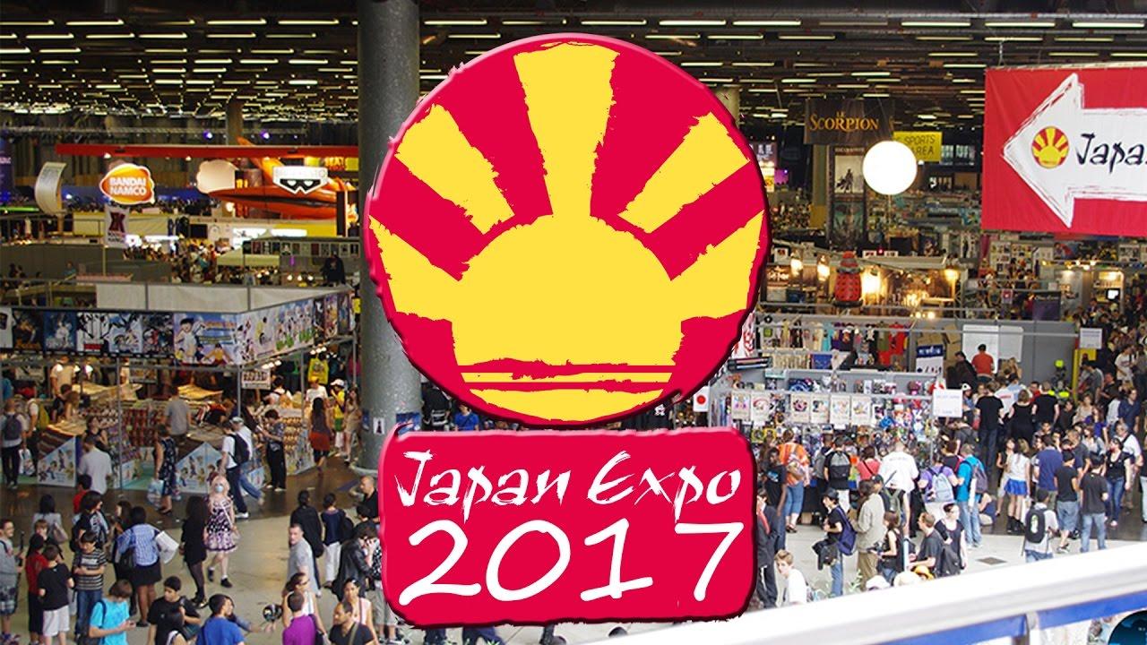 JapanExpo 2017 logo sur fond de festival